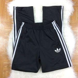 Adidas Track Pants Trefoil Zipper Legs Small
